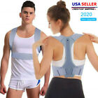 Kyпить Posture Corrector Support Back Shoulder Brace Belt Adjustable For Men Women NEW на еВаy.соm