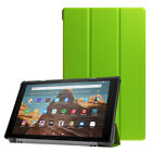 For Amazon Fire HD 10 8 7 9th 8th 7th Gen Slim PU Leather Stand Smart Case Cover