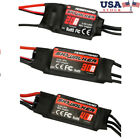 ESC BEC RC Airplane Quadcopter Helicopter 20/30/40A Brushless Speed Controller