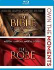The Bible / The Robe Double Feature Blu-ray NEW Factory Sealed, Free Shipping
