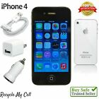 Apple iPhone 4 (UNLOCKED AT&T - GSM) 16GB Smartphone - A1332 - Black / White