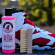 Shoe Cleaner Kit 8 Oz Pink Miracle Bottle Fabric Cleaner for Leather & Sneakers