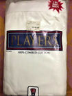 Players Big Man cotton briefs white 2-Pack sizes 6X-11X