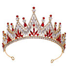 8cm High Crystal Large Wedding Bridal Party Pageant Prom Tiara Crown 5 Colors