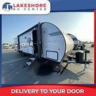 FOREST RIVER GREY WOLF 27RRBL BLACK LABEL TRAVEL TRAILER TOY HAULER CAMPER RV