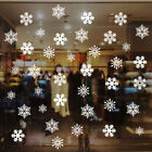 Removable Christmas Window Stickers Vinyl Decals Snowflake Wall Home Decoration