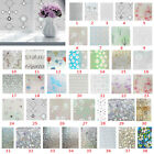 PVC 3D Static Cling Cover Frosted Window Glass Film Sticker Privacy Decor UK