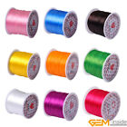 60 Yards 0.6mm Elastic Sewing Thread Machine Bobbin Craft Use For Sewing Beading