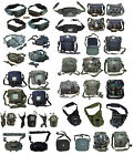 Mens Army Combat Military Travel Shoulder Bags Belts Money Pouches Rucksacks New