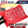 Emergency Fire Blanket Quick Release In Case For Home & Office Fire Surival Y3X2