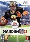 Madden NFL 11 (Nintendo Wii, 2010) Complete w/Manual Tested Works