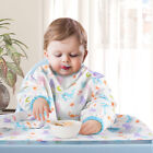Weaning Bib Baby Feeding Coverall Straps Ideal for BLW Toddler Baby-Led Weaning
