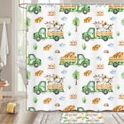 Country Ranch Truck Shower Curtain Bathroom Decor Fabric 12hooks 71in
