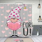 Elf Dwarf And Love Shower Curtain Bathroom Decor Fabric 12hooks 71in