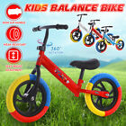 Kids Balance Bike Walker No Pedal Childs Training Bicycle w/Adjustable Seat Gift