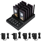 10-channel Wireless Pager Restaurant Guest Paging System Waiter Calling System
