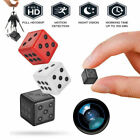 HD 1080P Mini Hidden Dice Spy Camera Dash Cam IR Night Vision DV DVR 16G 32G US