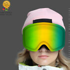 Ski Goggles Double Layers Anti-Fog Adult Winter Glasses Suitable for myopia