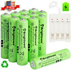 4/8/24 Pcs AAA Rechargeable Batteries Ni-Mh 600mAh Battery With AAA/AA Charger