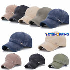 Unisex Baseball Cap Outdoor Golf Curved Visor Sun Hat Snapback Sports Adjustable