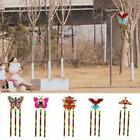 Butterfly Printed Long Tail Kite Outdoor Kite Toy with Line Hot Handle X3U9