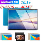"10.1"" 4g-lte Android 9.0 2.5d HD screen 8 128g dual SIM calling PC tablet New"