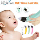 Baby Nasal Aspirator Electric Nose Cleaner Safe Hygienic Nostril Snot 2 Suckers