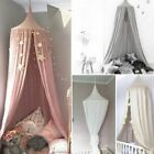 Baby Bed Curtain Children Room Crib Netting Tent Cotton Hung Dome Mosquito Props