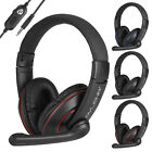 3.5mm Stereo Surround Sound Gaming Headset Headphone for PS4/PS5/Switch/Xbox One