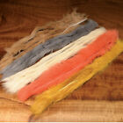 Hareline Natural and Dyed Rabbit Strips - All Colors