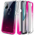For OnePlus Nord N10 5G Case, Full Body Bumper Hard PC Cover with Tempered Glass