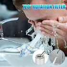 720°Rotate Splash Filter Faucet Adjustable Kitchen Sink Water Outlet Spray Head