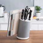 Simple&Versatile Kitchen Tool Storage Rack Kitchen Knife Cutting Board Holder Se