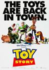 TOY STORY Classic 90's Vintage Movie Poster - Wall Film Art Print - Back In Town
