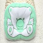 High Quality Hollow Cotton Baby Pillow Flat Head Tilting Preventing Bear Pattern