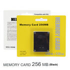 PS2 Memory Card 256MB For Sony PlayStation 2 Game Saves Pack High Speed Storage