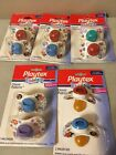 Внешний вид - Vintage Playtex Pacifiers Latex Nipples Orthodontic Classic Patterns 1999