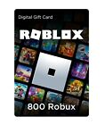 Roblox Gift Card Robux 2000/4500/800 Online Game Codes (This is a Digital Item)