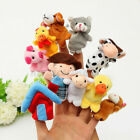Finger Puppets Cloth Story Doll Baby Educational Hand Cartoon Animal Toys Set