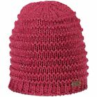 CMP Cap Beanie Kids Knitted Hat Pink Plain Chunky Knitted Logopatch