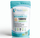 Vitamin D3 1000IU 120 Tablets High Strength Immunity Bone Support Health 25µg