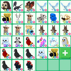 Adopt me pets - Legandary - Fly - Ride - MegaNeon -...