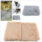 Comfortable Cat Cushion Blanket Blanket Plush Foldable Durable Keep Warm Tool LP