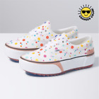 Внешний вид - IN HAND ALL SIZES VANS UV INK ERA STACKED WOMENS WHITE FLORAL AS SEEN ON TIK TOK