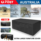 Waterproof Outdoor Furniture Cover Garden Patio Rain Snow Uv Table Protector New