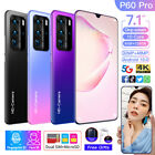P60 PRO 7.1'' 5G LTE 8 128G Android 10.0 Smart Phone 2 SIM Card Face Recognition
