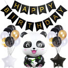 Cartoon Panda Theme Disposable Tableware Balloon Set Party Decoration Supplies m