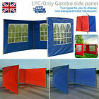 UK Outdoor Gazebo Replace Exchangeable Side Panel Wall Panels with Window 3X3m