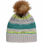 O'Neill Beanie Hat Bg Girls o'Neill Beanie Grey Striped Logopatch