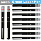 900Miles Green Lamp Laser Pointer Single Visible Beam AAA Lazer Pet Cat Dog Toy